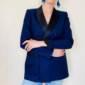 NWT 1901 navy black blazer jacket